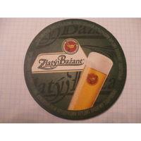 Подставка под пиво (бирдекель) Zlaty Bazant