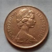 2 пенса, Великобритания 1977 г.