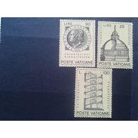 Ватикан 1972 ватиканская архитектура полная серия