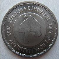 Албания 50 леков 2003 г. Албанская античность