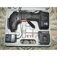 Насос компрессор для авто мото вело аккумуляторный для тех у кого шуруповёрт есть  9.6 вольт