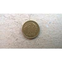 Польша 1 грош, 2003г.