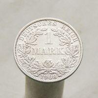 Германия 1 марка 1908 АА