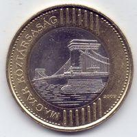 Венгрия, 200 форинтов 2009 года.