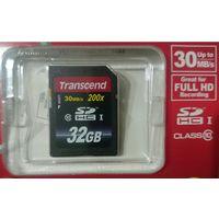 Карта памяти Transcend SDHC Class 10 32 GB