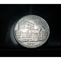 США 25 центов (квотер) Кентуки 2001
