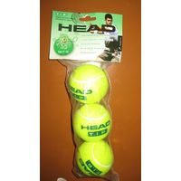 Мячи Head TIP Green разработаны специально для отработки ударов на стандартном корте, так как они все медленнее обычных, начинающий игрок может легче их контролировать.  Скорость отскока на 25% меньше