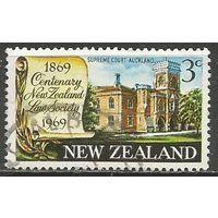 Новая Зеландия. 100 лет юридическому обществу. 1969г. Mi#499.