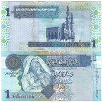 Ливия 1 динар образца 2004 года UNC p68b