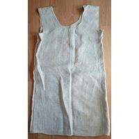 Сорочка рубаха ночная старинная лен