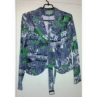 Пиджак цветной, р.42-44, новый и стильный
