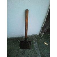 Лопата на вид саперная