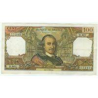 Франция, 100 франков 1974 год.