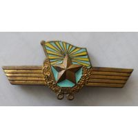 Знак. Сверхсрочик ВВС СССР. Тяжёлый металл.