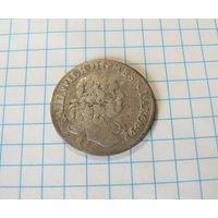 6 грошей 1680 Пруссия.Фридрих Вильгельм.