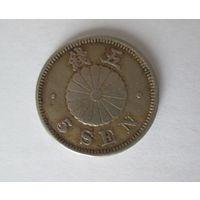 Япония 5 сен 1894 редкая. Распродажа. Старт с 1 руб.