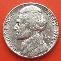 5 центов 1976 D США