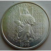 25. Португалия 1000 эскудо 1998 год, серебро*