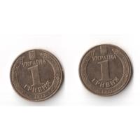 1 гривня гривна 2012 год Украина Владимир Великий