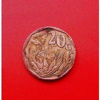 46-12 ЮАР, 20 центов 1995 г.