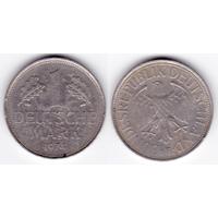 ФРГ 1 марка 1974 F