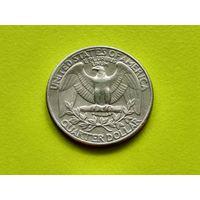 США. 25 центов (квотер, 1/4 доллара) 1978 D (Washington Quarter).