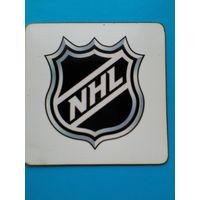 """Магнит """"Логотип НХЛ"""" - Размер магнита 10/10 см."""