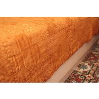 Комплект из двух тонких стеганых ватных одеял, 190 х 140 см каждое, ГДР.  Цена за одно одеяло.