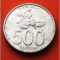 117-04 Индонезия, 500 рупий 2003 г.