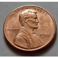 1 цент США 1988 г.