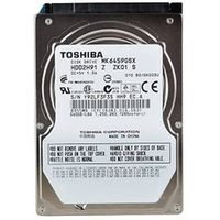 "Жесткий диск Toshiba MK 59GSX 640 GB (MK6459GSX, S/N: Y9CCP06NT, S-ATA, 2,5"")"