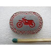 Значок. Мотоцикл.