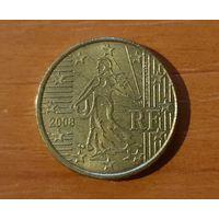 10 евроцентов 2008 Франция