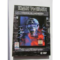 DVD IRON MAIDEN  - Visions Of The Beast (2003,  2 DVD9)
