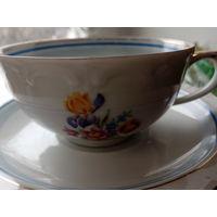 Чайные чашки с блюдцами гдр
