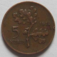 5 куруш 1970 г Турция