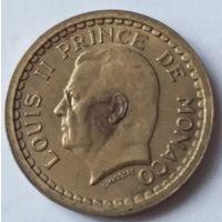 Монако 1 франк 1945 года