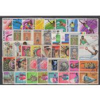 Гвинея. Спорт,культура и другое. 40 гашеных марок.