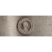 Гибралтар 20 пенсов 2014(Xt)