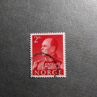 Марка Норвегия 1959 год Король