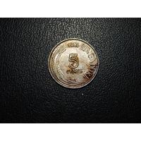 Сингапур 5 центов 1981