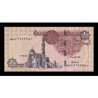Египет 1 фунт образца 2017 года UNC p70