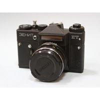 Фотоаппарат Зенит ЕТ + Гелиос 44М-6