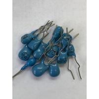Конденсаторы ниобиевые К53-19 10 мкФ 16 вольт 12 штук