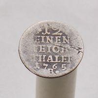 Пруссия 1/12 часть таллера 1765  м.д. Бреслау
