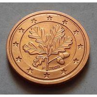 2 евроцента, Германия 2009 F, UNC