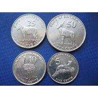 4 монеты. Эритрия.