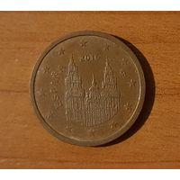 2 евроцента 2016 Испания