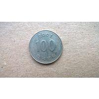Южная Корея 100 вон, 2001г.**