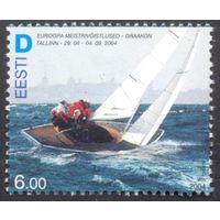 Эстония спорт парус яхта